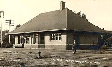 Lake Orion MI MCRR Depot